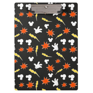 Mickey Mouse | Super Hero Icon Pattern Clipboard