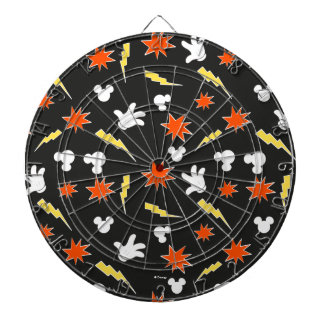 Mickey Mouse | Super Hero Icon Pattern Dartboard With Darts
