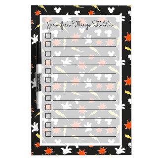 Mickey Mouse | Super Hero Icon Pattern Dry Erase Board