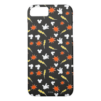 Mickey Mouse | Super Hero Icon Pattern iPhone 8/7 Case
