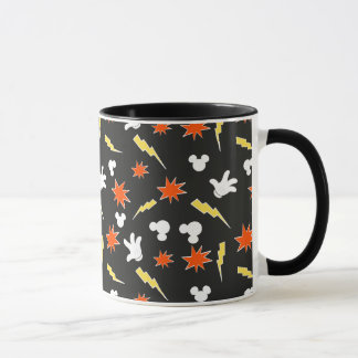 Mickey Mouse | Super Hero Icon Pattern Mug