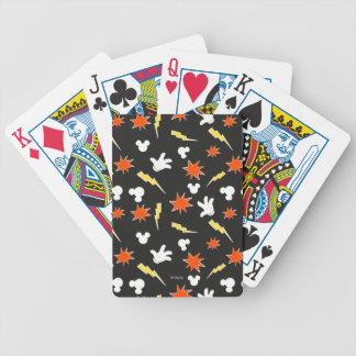 Mickey Mouse | Super Hero Icon Pattern Poker Deck