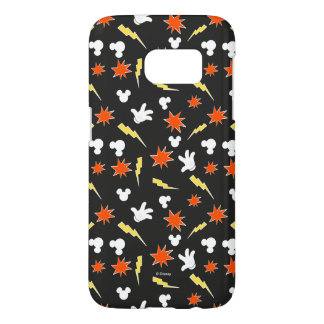Mickey Mouse | Super Hero Icon Pattern Samsung Galaxy S7 Case