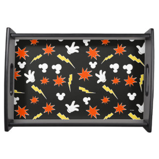 Mickey Mouse | Super Hero Icon Pattern Serving Tray