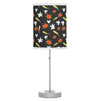 Mickey Mouse | Super Hero Icon Pattern Table Lamps