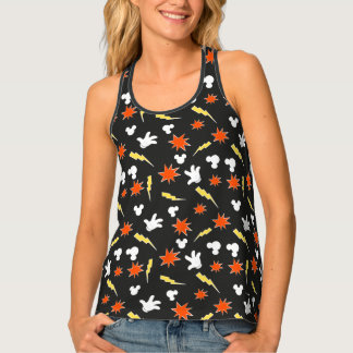 Mickey Mouse | Super Hero Icon Pattern Tank Top