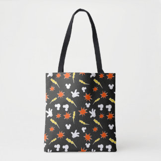 Mickey Mouse | Super Hero Icon Pattern Tote Bag