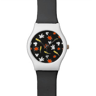 Mickey Mouse | Super Hero Icon Pattern Watch