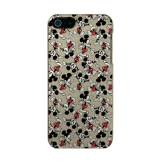Mickey Mouse Tan Pattern Incipio Feather® Shine iPhone 5 Case