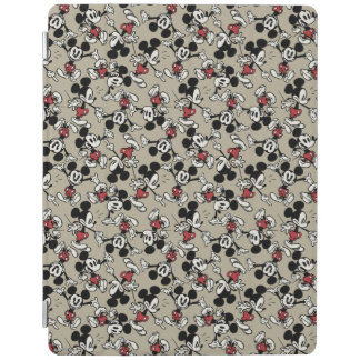Mickey Mouse Tan Pattern iPad Cover
