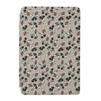 Mickey Mouse Tan Pattern iPad Mini Cover