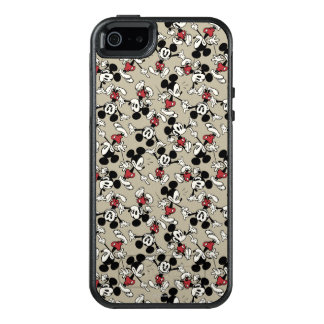 Mickey Mouse Tan Pattern OtterBox iPhone 5/5s/SE Case