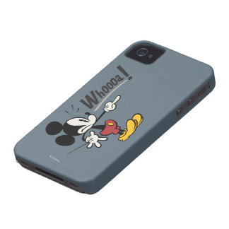 Mickey Mouse - Whooa! iPhone 4 Case-Mate Case