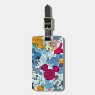 Mickey Pattern 5 Tag For Bags