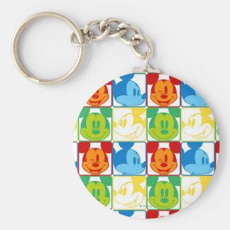 Mickey Pattern 7 Keychain