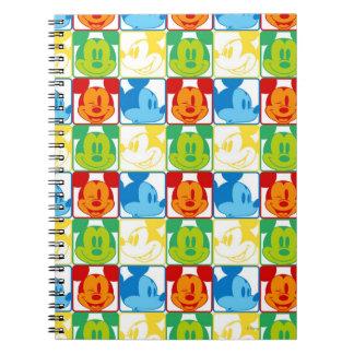 Mickey Pattern 7 Notebook
