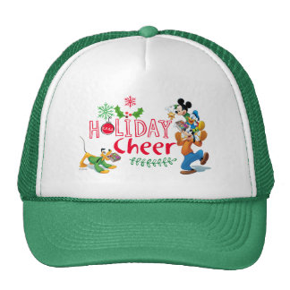 Mickey Spreading Holiday Cheer Trucker Hat