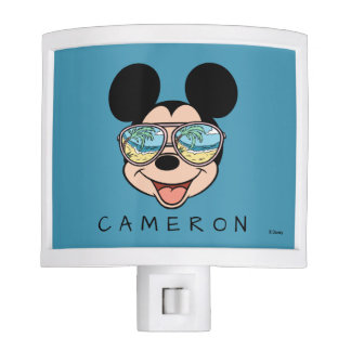 Mickey | Tropical Sunglasses - Add Your Name Night Lights