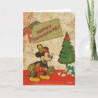 Mickey   Vintage Merry Christmas