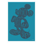 Mickey | Who Says We Have To Grow Up? Poster