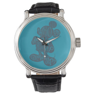 Mickey | Who Says We Have To Grow Up? Watches