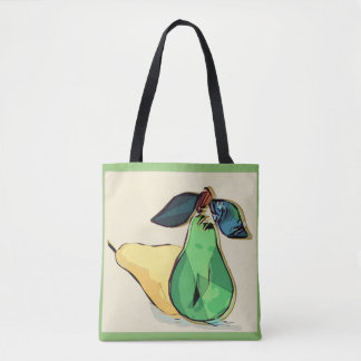 Mickey's Pear, Abstracted Tote