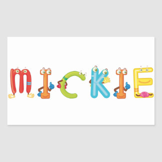 Mickie Sticker