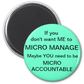 Micro Accountable 2 Inch Round Magnet