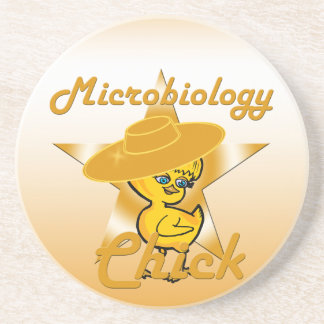 Microbiology Chick #10 Coaster
