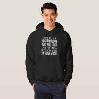 MICROBIOLOGY TECHNOLOGIST HOODIE