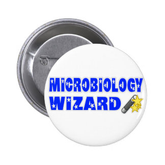 Microbiology Wizard 2 Inch Round Button