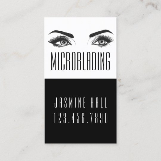 Microblading eyebrows tattoo permanent makeup business card microblading eyebrows tattoo permanent makeup business card reheart Image collections