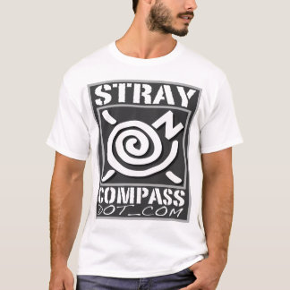 Microfiber - StrayCompass - Men's Silver T-Shirt