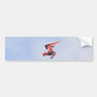 Microlight Airplane Bumper Sticker