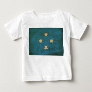 Micronesia Flag Baby T-Shirt