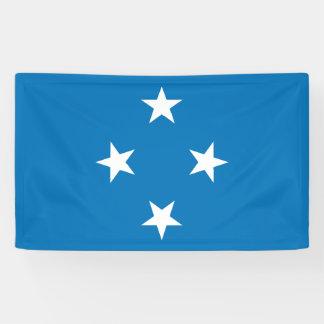Micronesia Flag Banner