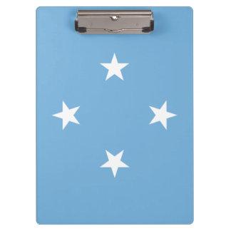 Micronesia Flag Clipboard