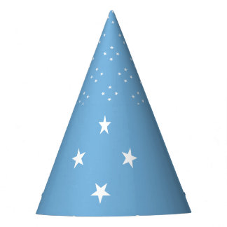 Micronesia Flag Party Hat