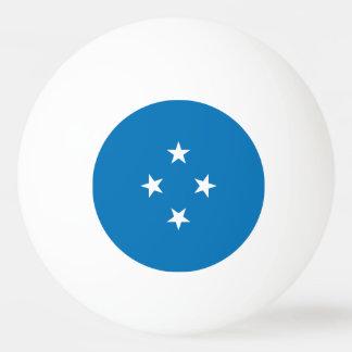 Micronesia Flag Ping Pong Ball