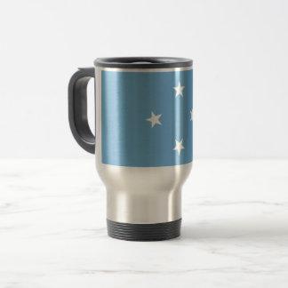 Micronesia Flag Travel Mug
