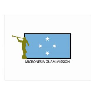 MICRONESIA GUAM MISSION CTR LDS POSTCARD