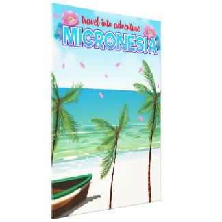 "Micronesia ""Travel into adventure"" Canvas Print"