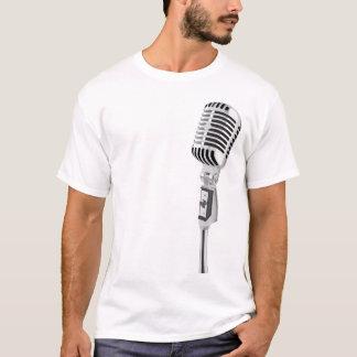 microphone blck T-Shirt