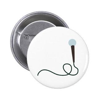 Microphone 2 Inch Round Button