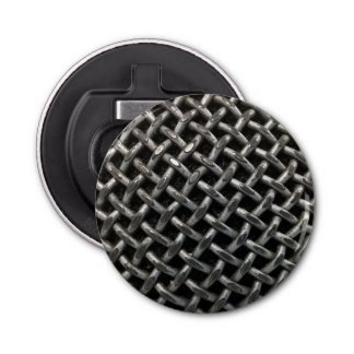 Microphone Close Up Bottle Opener