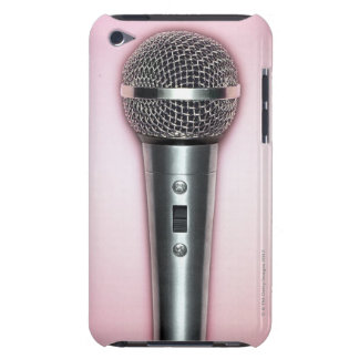 Microphone de chrome coques barely there iPod