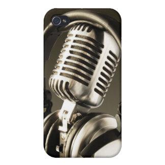 Microphone & Headphone iPhone4 Case Cover iphone 4