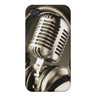 Microphone & Headphone iPhone4 Case Cover iphone 4 iPhone 4/4S Covers