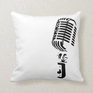 Microphone Home Decoration Throw Pillow
