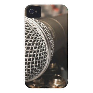 Microphone Mixer Cable Microphone Cable Singing Case-Mate iPhone 4 Case